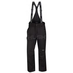 Husky Marven černá pánské nepromokavé zimní lyžařské kalhoty HuskyTech 15000