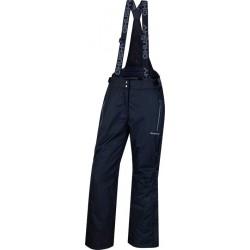 Husky Brita antracit dámské nepromokavé zimní lyžařské kalhoty Aquablock Plus