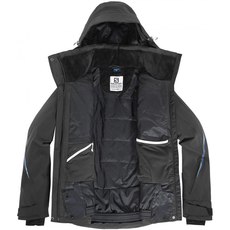 ... Salomon Brilliant Jacket W black 396879 dámská nepromokavá zimní  lyžařská bunda (2) ... 47daa9df02