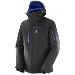 Salomon Brilliant Jacket M black 397294 pánská nepromokavá zimní lyžařská bunda (1)