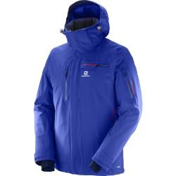 Salomon Brilliant Jacket M surf the web 397298 pánská nepromokavá zimní lyžařská bunda (1)