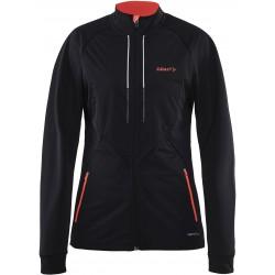 Craft Storm Jacket 2.0 Women 9801 Black Panic 1904257 dámská větruodolná bunda/mikina