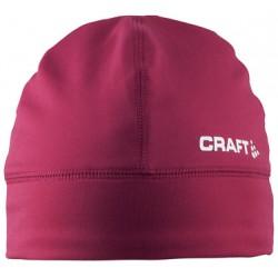 Craft Light Thermal Hat 1482 Ruby 1902362 mírně zateplená elastická běžecká čepice