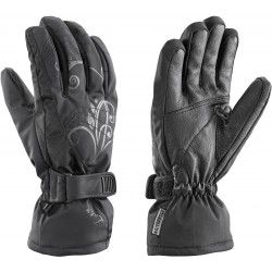 Leki Velvet S black dámské lyžařské rukavice (1)
