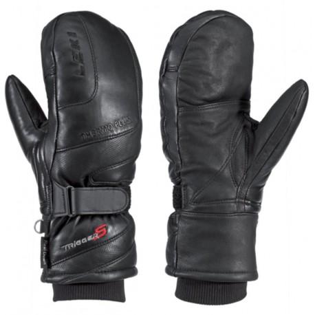 Leki Colorado Mitten S black dámské lyžařské palcové rukavice