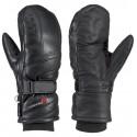Leki Colorado Mitten S black unisex lyžařské palcové rukavice