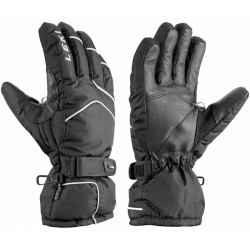 Leki Scarp S black unisex lyžařské rukavice