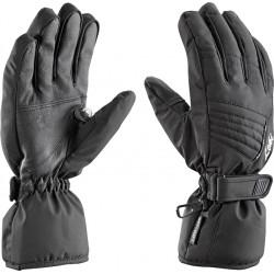 Leki Fever S black dámské lyžařské rukavice (1)
