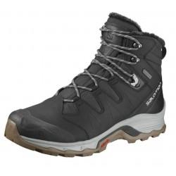 Salomon Quest Winter GTX Phantorm/Black/Vapor blue 398547 pánské zimní nepromokavé boty 1