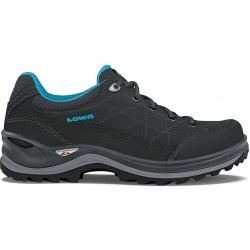 Lowa Renegade III GTX LO W anthracite/turquoise dámské nízké nepromokavé kožené boty