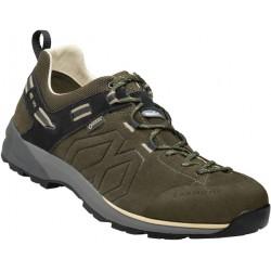 Garmont Santiago Low GTX M olive green/beige pánské nízké nepromokavé kožené boty (1)