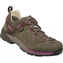 Garmont Santiago Low GTX W brown/fucsia dámské nízké nepromokavé kožené boty