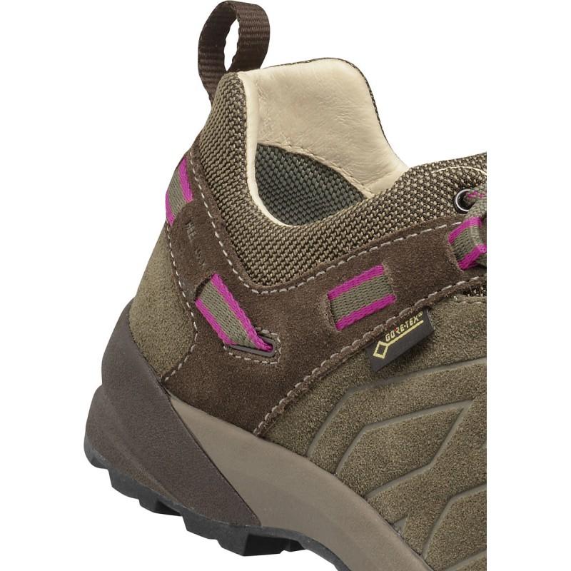 ... Garmont Santiago Low GTX W brown fucsia dámské nízké nepromokavé kožené  boty (2) ... 4b2834cec85