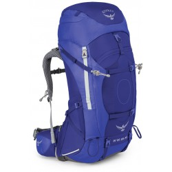 Osprey Ariel AG 65l WM tidal blue dámský expediční batoh (1)
