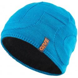49d0bb134ed Zajo Riku M Beanie Blue Jewel pánská zimní čepice Merino vlna