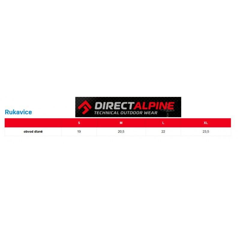 Direct Alpine Thermo Mitt 1.0 black unisex palčákové membránové rukavice · Direct  Alpine Tabulka velikostí rukavice 9af5d013a7