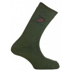 Mund Caza Rizo Hunting Standard 301 khaki unisex trekové ponožky