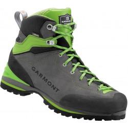 Garmont Ascent GTX anthracite/green pánské nepromokavé kožené trekové boty (1)