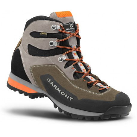 Garmont Dragontail Hike GTX brown orange pánské nepromokavé kožené trekové  boty b4fb5ca604