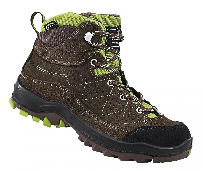 Garmont Escape Tour GTX K brown dětské nepromokavé kožené trekové boty 5965f182e0