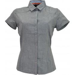 Husky Gvel šedá dámská košile krátký rukáv