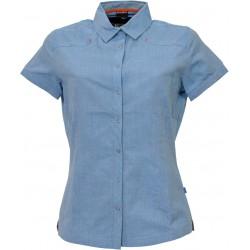 Husky Gvel modrá dámská košile krátký rukáv
