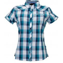 Husky Gvel světle modrá dámská košile krátký rukáv