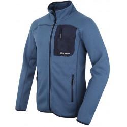 Husky Goupa M modrá pánský svetr