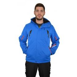 Husky Windor modrá pánská nepromokavá zimní lyžařská bunda HuskyTech 20000