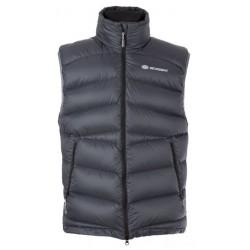 Sir Joseph Kelut Vest Man tmavě šedá pánská péřová vesta