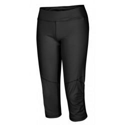 Husky Sharby M černá pánské běžecké tříčtvrteční kalhoty