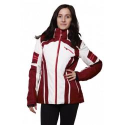 Husky Bilie vínová dámská nepromokavá zimní lyžařská bunda Aquablock Plus