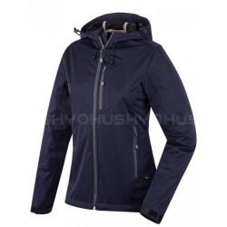 Husky Bolly modrá dámská softshellová bunda