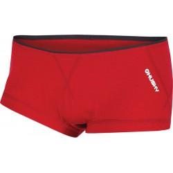 Husky Merino 100 Panties W červená dámské kalhotky Merino vlna