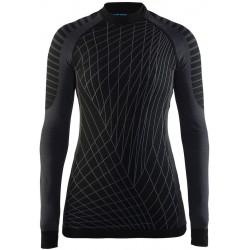 Craft Active Intensity CN LS W black/granite 1905333-999985 dámské triko dlouhý rukáv (1)