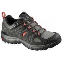 Salomon Ellipse 2 GTX W castor gray/beluga 400021 dámské nízké nepromokavé boty