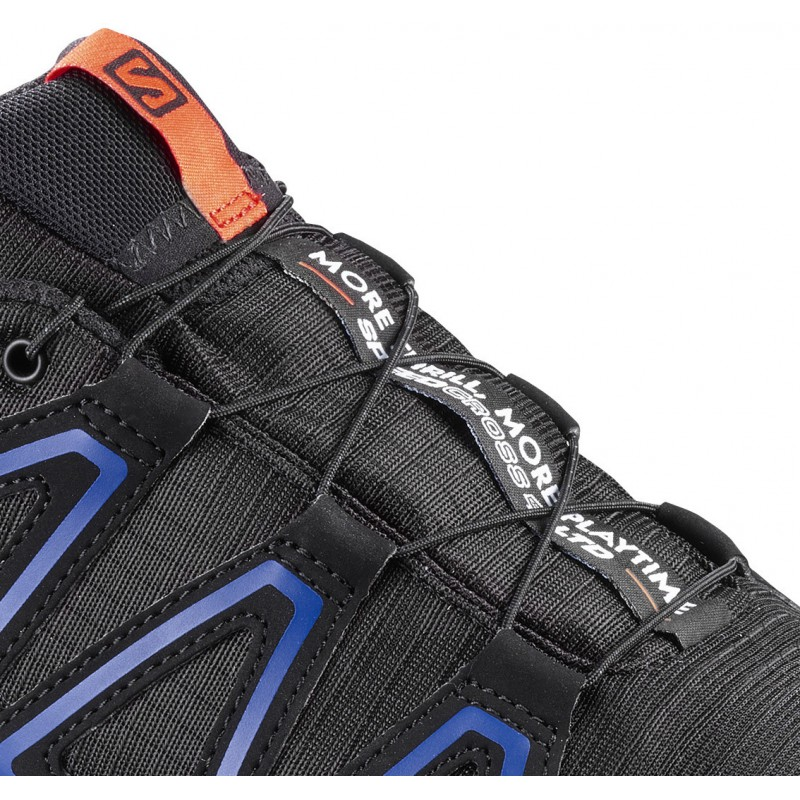 ... Salomon Speedcross 4 GTX LTD black scarlet ibis 401774 pánské  nepromokavé běžecké boty (3 ... 6c19a2b98e