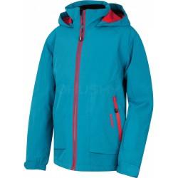 Husky Zengl Junior modrá dětská nepromokavá zimní lyžařská bunda HuskyTech 15000