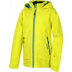 Husky Zengl Junior světle zelená dětská nepromokavá zimní lyžařská bunda HuskyTech 15000
