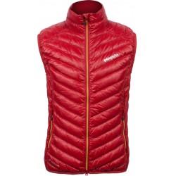 Pinguin Breeze Vest červená dámská lehká péřová vesta