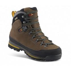 Garmont Nebraska GTX dark brown pánské nepromokavé kožené trekové boty (1)