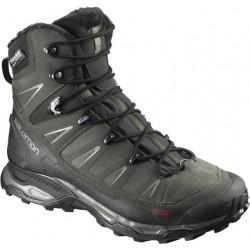 Salomon X Ultra Winter CS WP black/rosin/castor grey 398503 pánské zimní nepromokavé boty