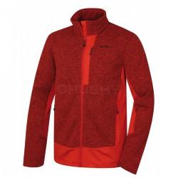 Husky Alan M světle červená pánský sportovní svetr