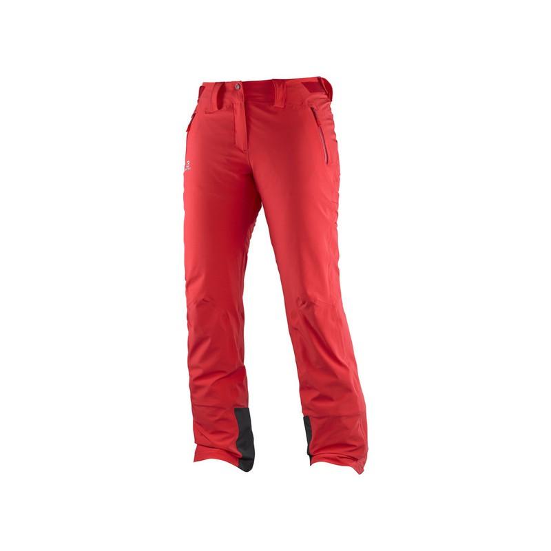 5579f52c01e Salomon Iceglory Pant W infrared 382617 dámské nepromokavé zimní lyžařské  kalhoty