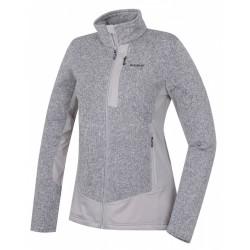 Husky Alan L světle šedá dámský sportovní svetr