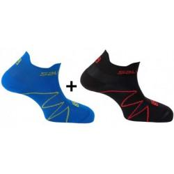 Salomon XA Sonic 2 Pack union blue/black 381720  nízké sportovní ponožky