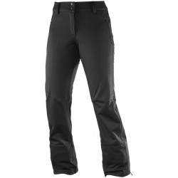 Salomon Icetrip Pant W black 383047 dámské softshellové zimní kalhoty