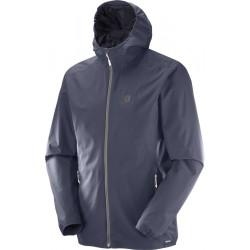 Salomon Essential JKT M ombre blue 393849 pánská nepromokavá bunda