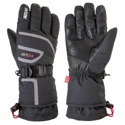 Relax Spirit RR11A černá/červená pánské lyžařské rukavice