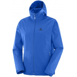 Salomon Essential JKT M prince blue 393847 pánská nepromokavá bunda